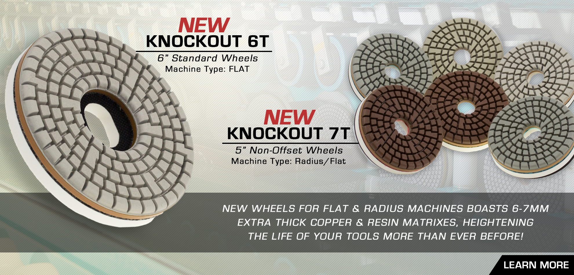 6T 7T Knockout Wheels