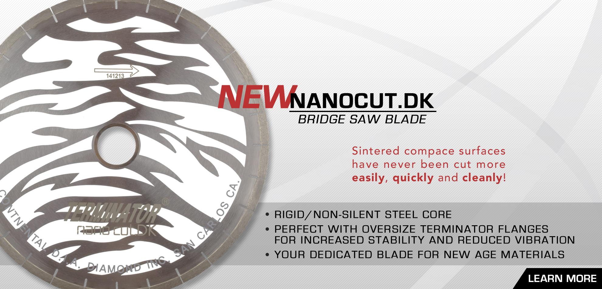 NanoCut.DK Bridge Saw Blade