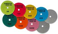 Wet/Dry Polishing Pads