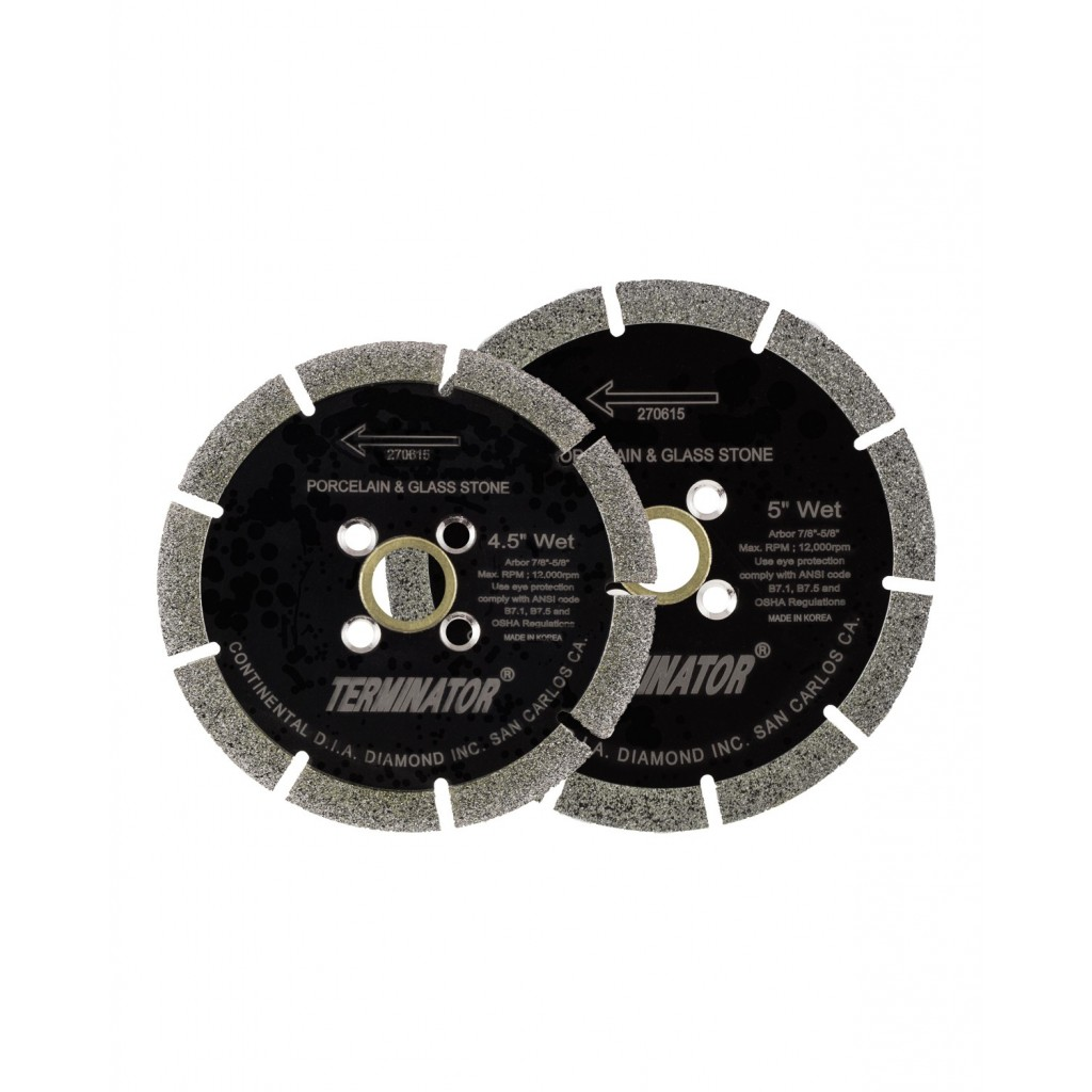 Terminator High Rim Vacuum Brazed Blade