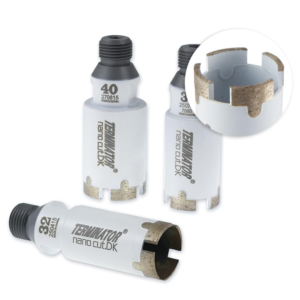Terminator NanoCut.DK CNC Core Drills