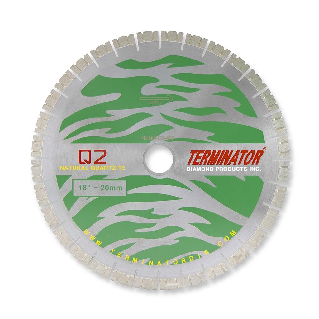 Terminator NanoCut.Q2 Quartzite Bridge Saw Blade