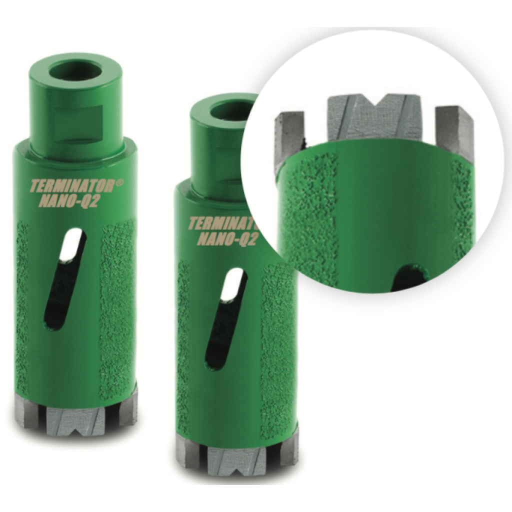 TERMINATOR Q2 Quartzite Core Drills
