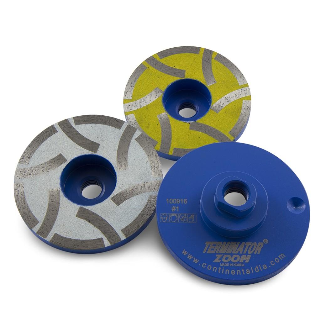 Terminator Zoom Resin Filled Cup Wheels