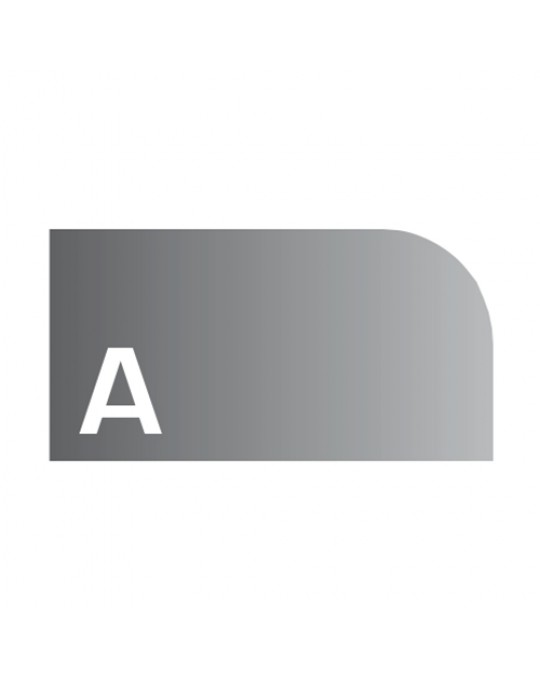 """A"" Profile 4cm Radius 10 Diamond Strip Polishing Wheels"