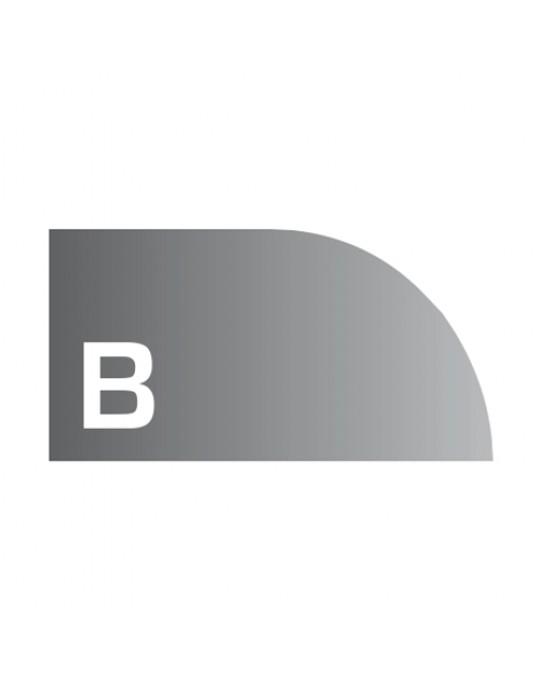 """""""B"""" Profile 4cm Radius _ FULL SET"""