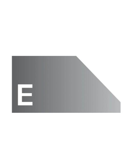 """E"" Profile 3cm Bevel 6 Abrasive Wheels"