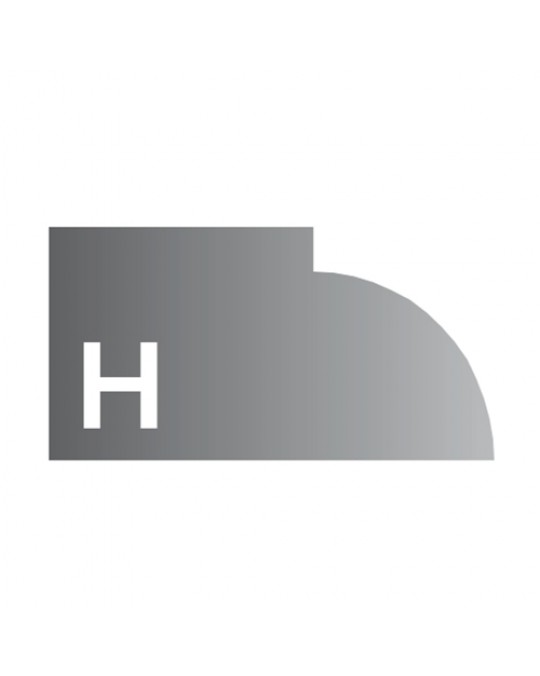 """H"" Profile 2cm FULL SET"