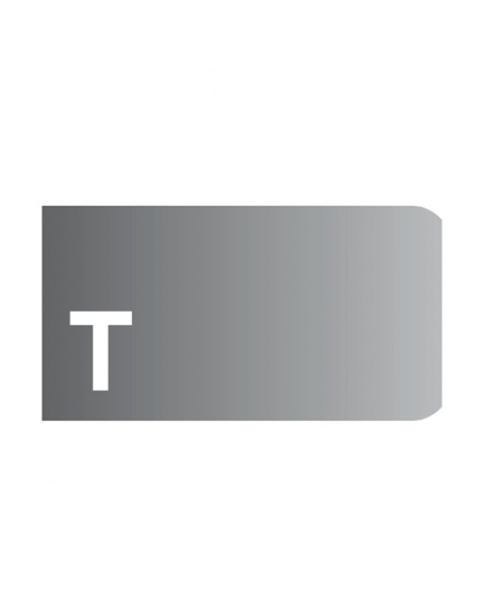 """T"" Profile 3cm Radius 3 Metal Wheels"