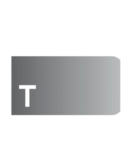 """T"" Profile 3cm Radius 10 Diamond Strip Polishing Wheels"