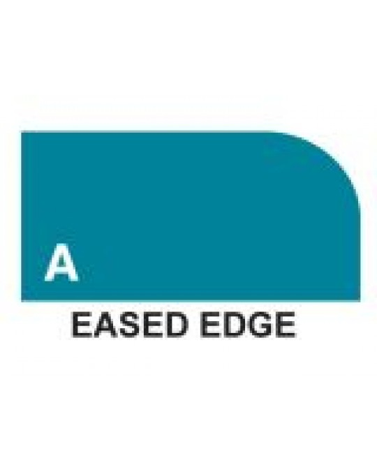 Shape A - Eased Edge