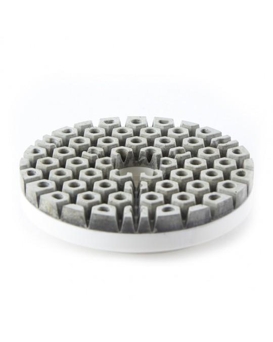 Terminator Knockout Snail Lock Flat Polish Wheels