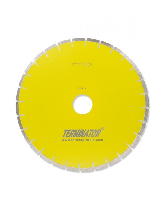 Terminator Premium Silent Core Granite Bridge Saw Blade