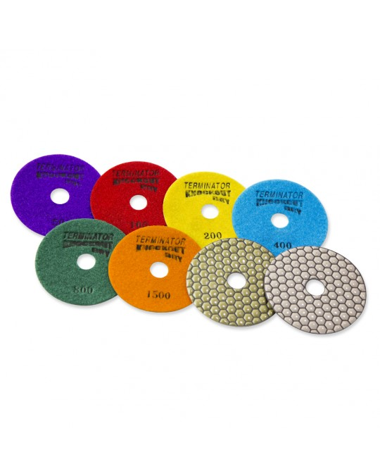 Terminator KNOCKOUT Dry Polishing Pads