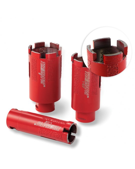 Terminator Segmented Core Drill with Side Protection