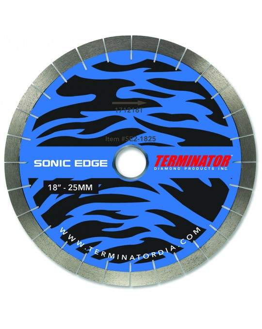 "Terminator Sonic Edge ""Generation 3"" Bridge Saw Blade"