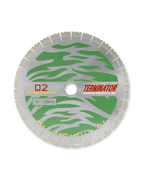 Terminator NanoCut.Q2 Quartzite Bridge Saw Blade