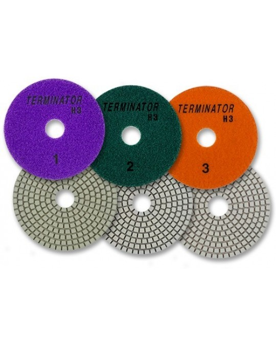 Terminator H3 Polishing Pads