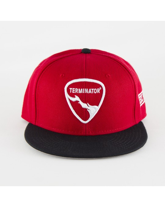 Terminator Shield Logo Snapback Hat