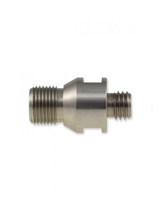 Terminator Router Tooling Adapter (Gas Male to Male Thread)