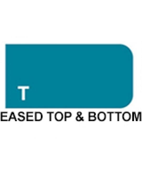 Shape T - Eased Top & Bottom