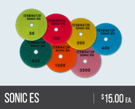 Sonic ES Polishing Pads